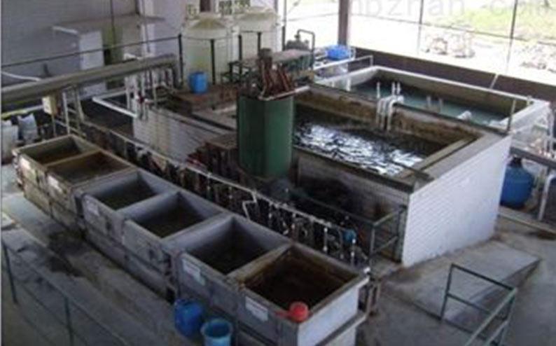府谷天健电石废水处理站