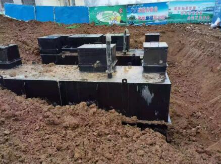 恭喜我公司妇幼保健院污水处理设备安装完成