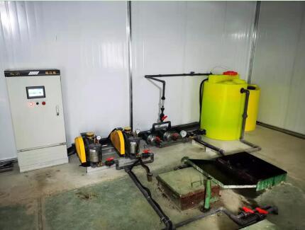 侯马市汇丰建材有限责任公司 污水处理站改造完成