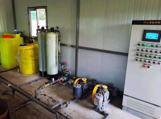 山西威顿水泥集团有限责任公司 污水处理站改造完成