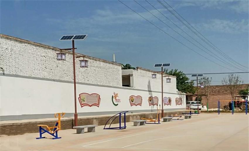 渭南蒲城太阳能路灯安装