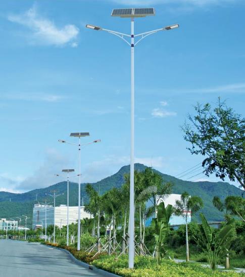 太阳能路灯方案,灯控自动灵活,节能环保!