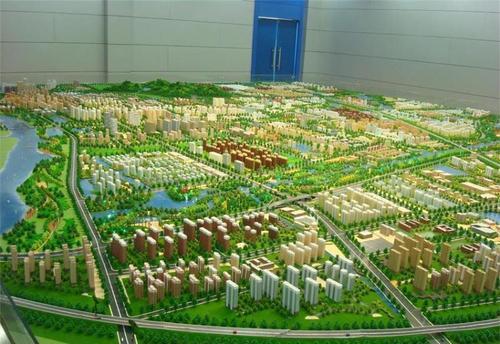 新疆房产3d沙盘模型