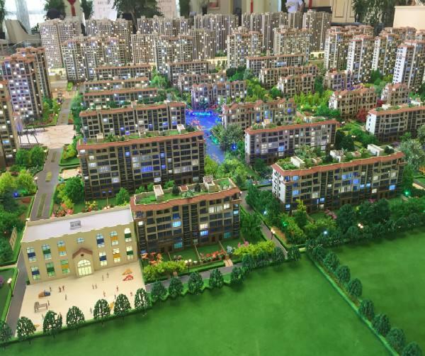 新疆房产模型沙盘