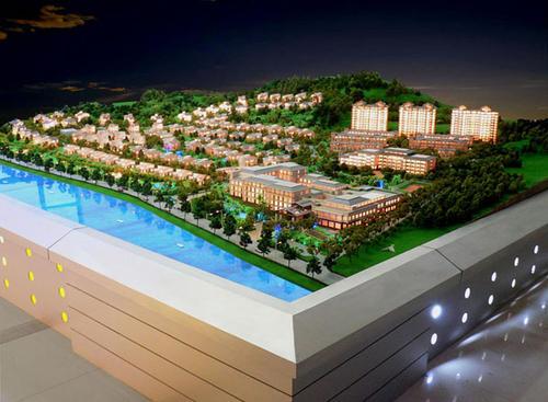 新疆房产小区沙盘模型