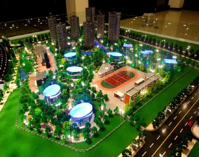 房地产开发商做沙盘的时候,会真实的反映房屋的设计结构