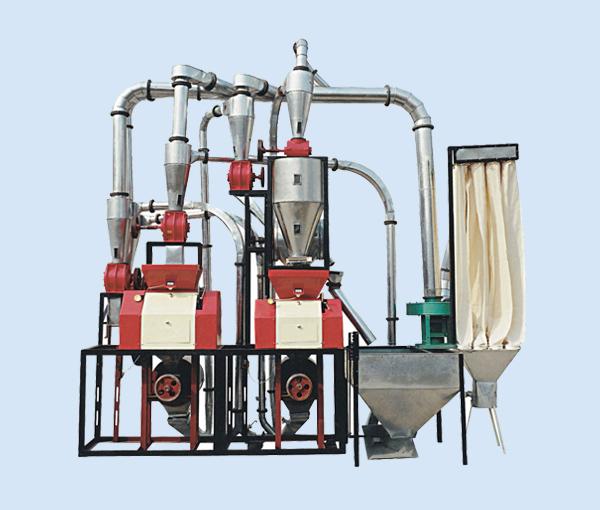 渭南磨粉机机组6FPY10皮心分离双机组