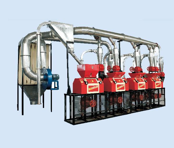 渭南磨粉机机组-6FPY24皮心分离四机组