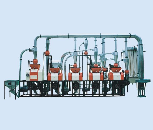 渭南磨粉机机组6FTY-20皮心分离五机组