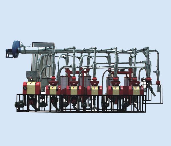 渭南磨粉机机组6FTP-25型平筛皮心分离六组机