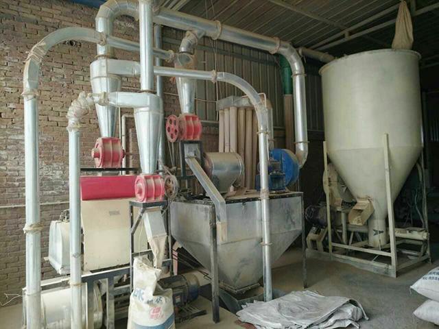 渭南磨粉机机组安装工程案例