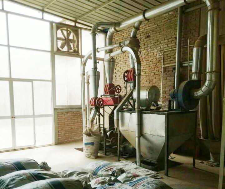 渭南磨粉机机组客户案例