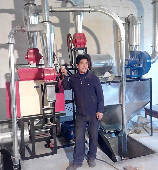 西安磨面机介绍面粉磨粉机制粉过程与工艺
