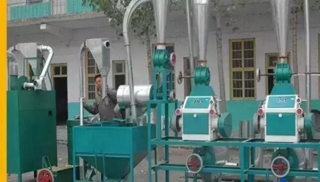 渭南磨粉机机组生产