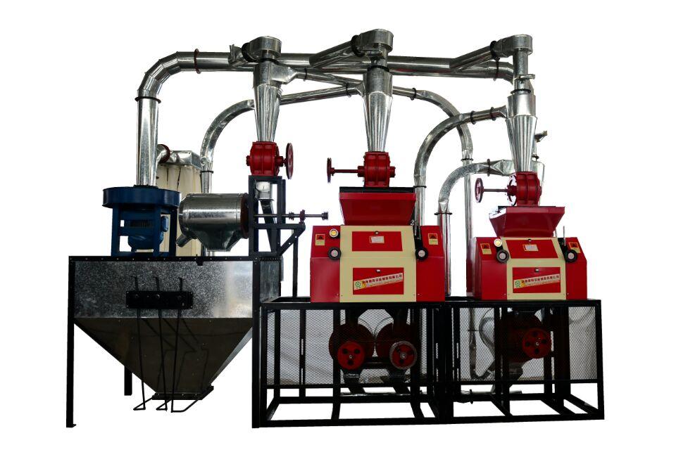 渭南磨粉机机组6FPY15双机组