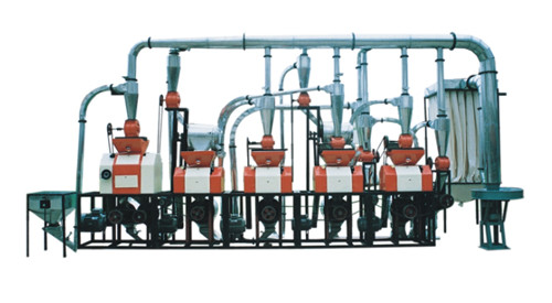 渭南磨粉机机组6FTY-20型五组机
