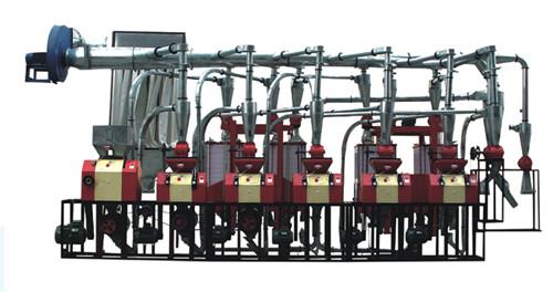渭南磨粉机机组6FTP-25型六组机