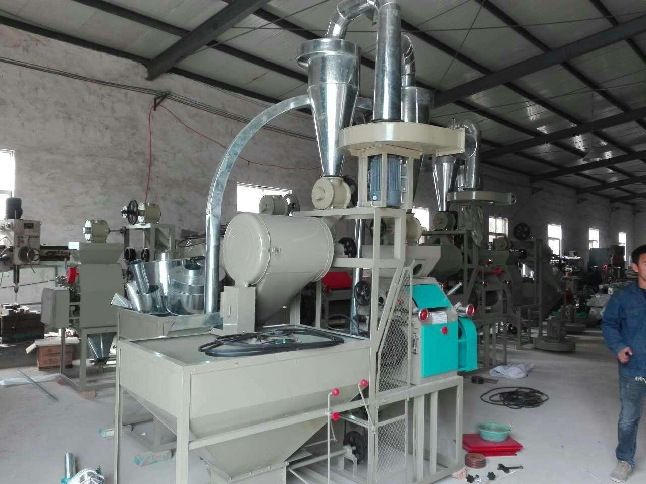 面粉加工机在自动化运行中的要求必须清楚的几点