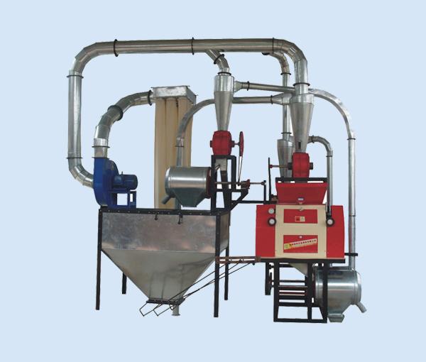 磨面机在磨面是应该怎么配置小麦渭南磨面机