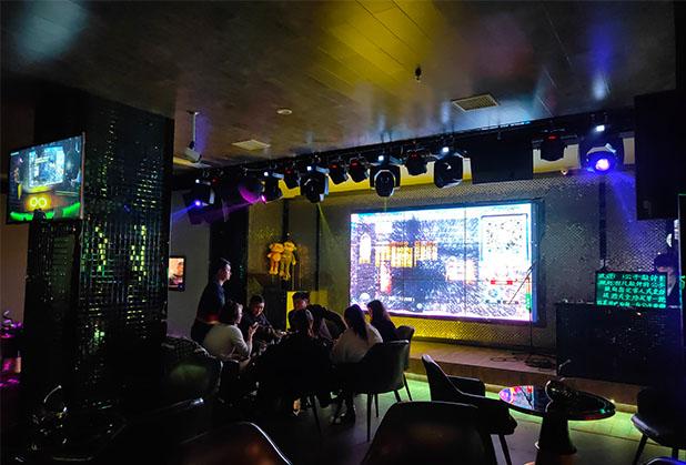 宜賓酒吧音響施工現場