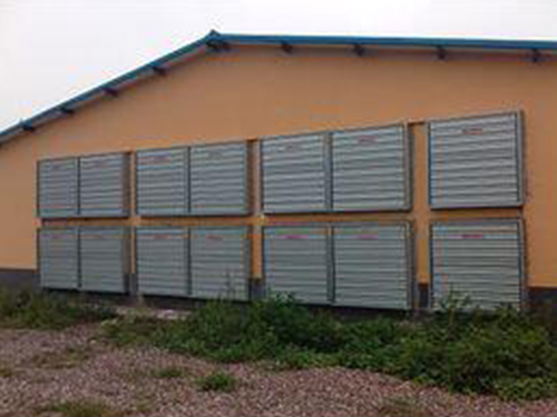 成都通风降温设备安装成功案例