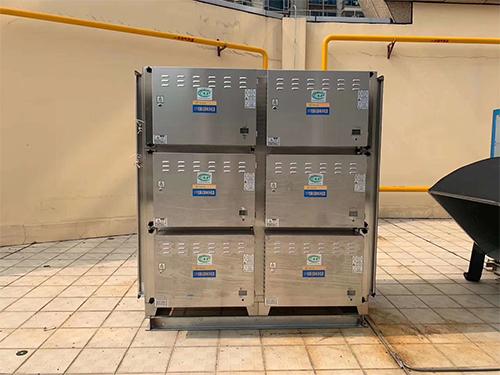四川厨房油烟净化器维护保养成功案例
