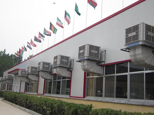 四川厂房通风降温设备安装成功案例