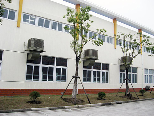四川冷风机安装成功案例