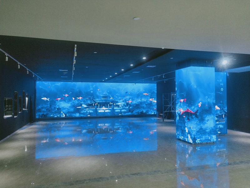 四川展厅显示屏