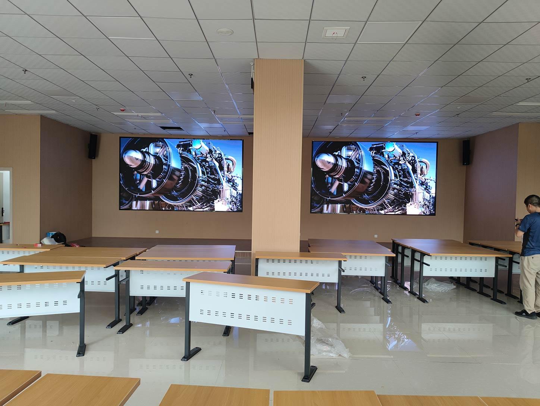 绵竹人民医院实训中心显示屏