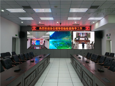 安防小间距LED显示屏解决方案