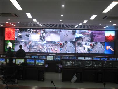 指挥中心小间距LED显示屏