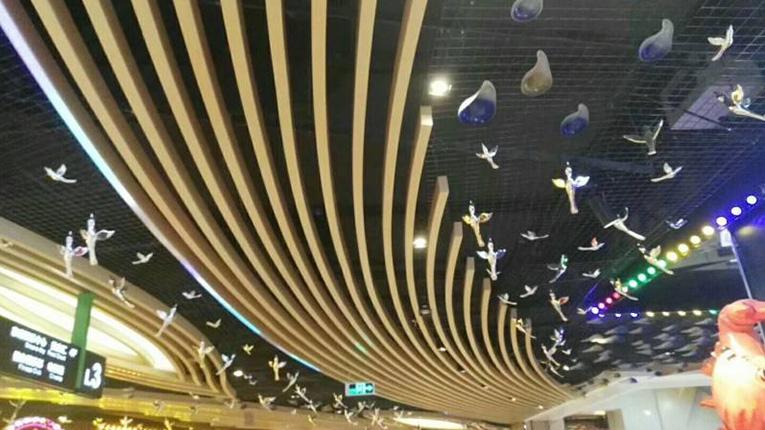 四川铝方通装饰材料销售安装成功案例