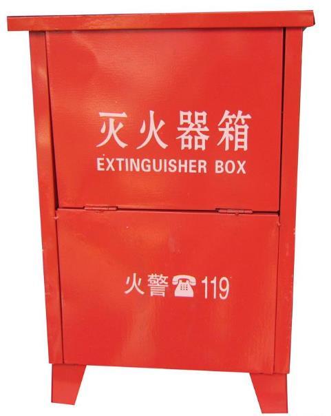 兰州消防器材灭火器箱-开门式和翻盖式种类可选