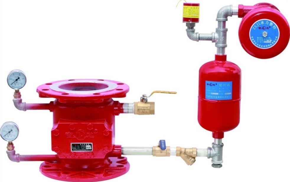 兰州消防配件消防湿式报警阀