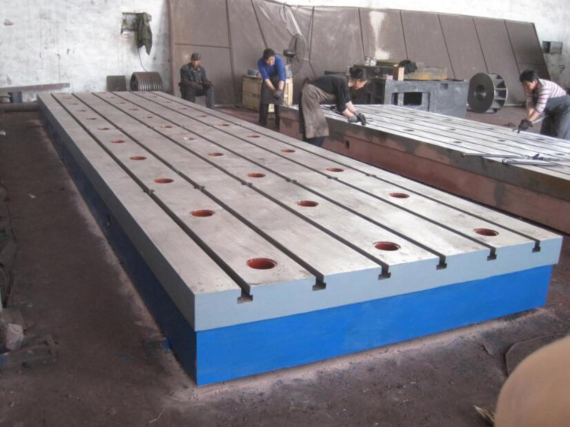 如何正确使用铸铁平台?陕西铸铁平台厂家告诉大家
