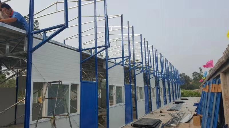 陕西轻钢结构活动房施工