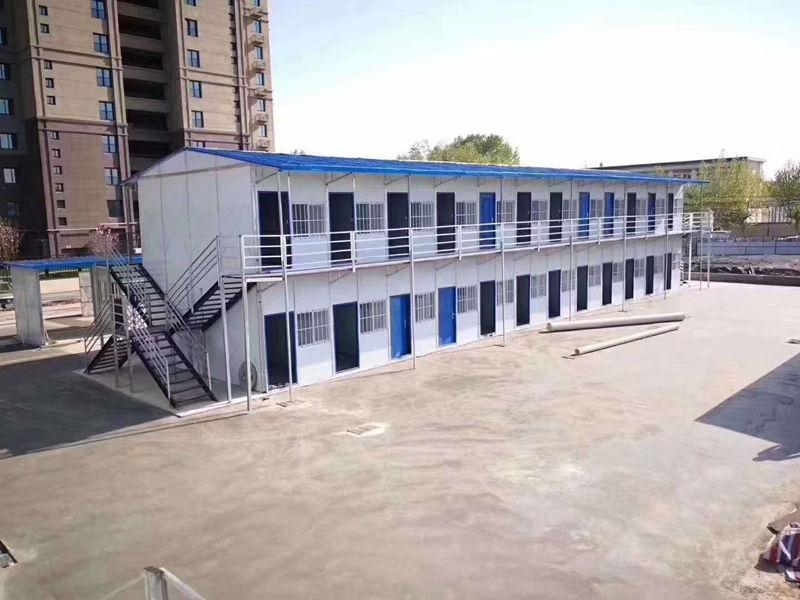 钢结构活动房安装