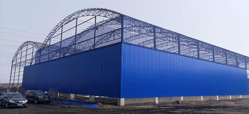 轻钢大棚施工案例