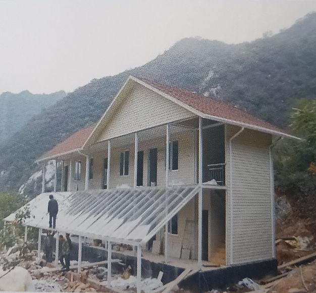 轻钢别墅施工案例