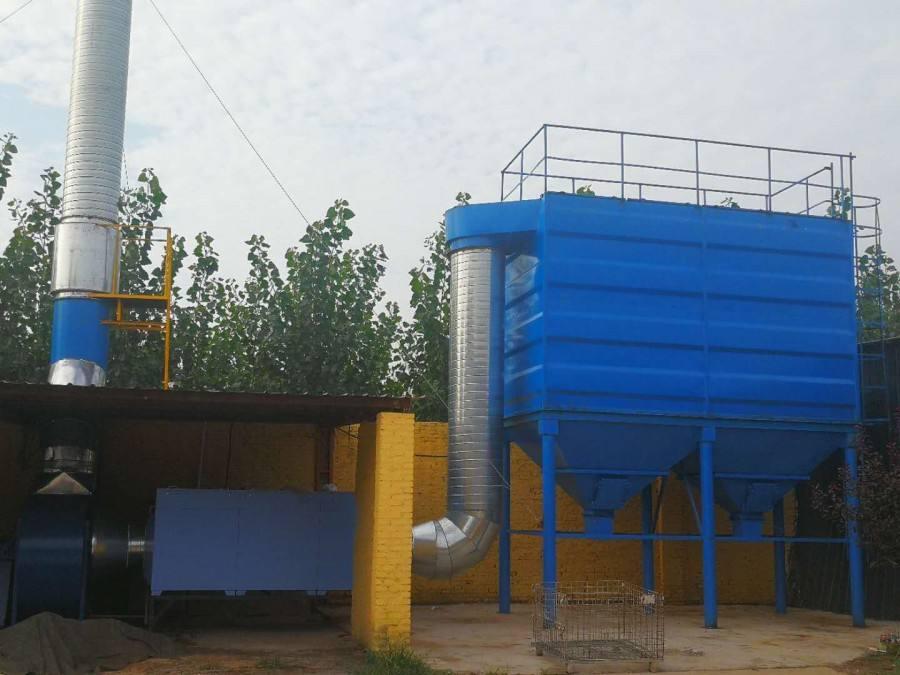 湖北导电滤槽除尘器改造