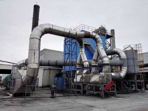 鍋爐煙塵超低排放設備展示