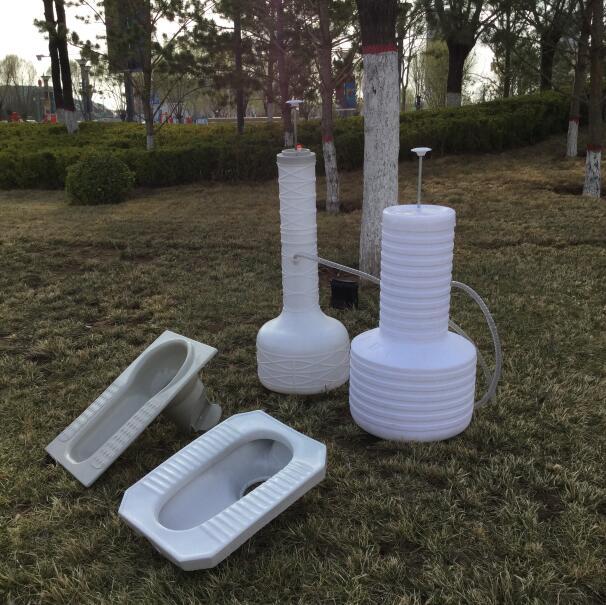农村厕改专用无水马桶