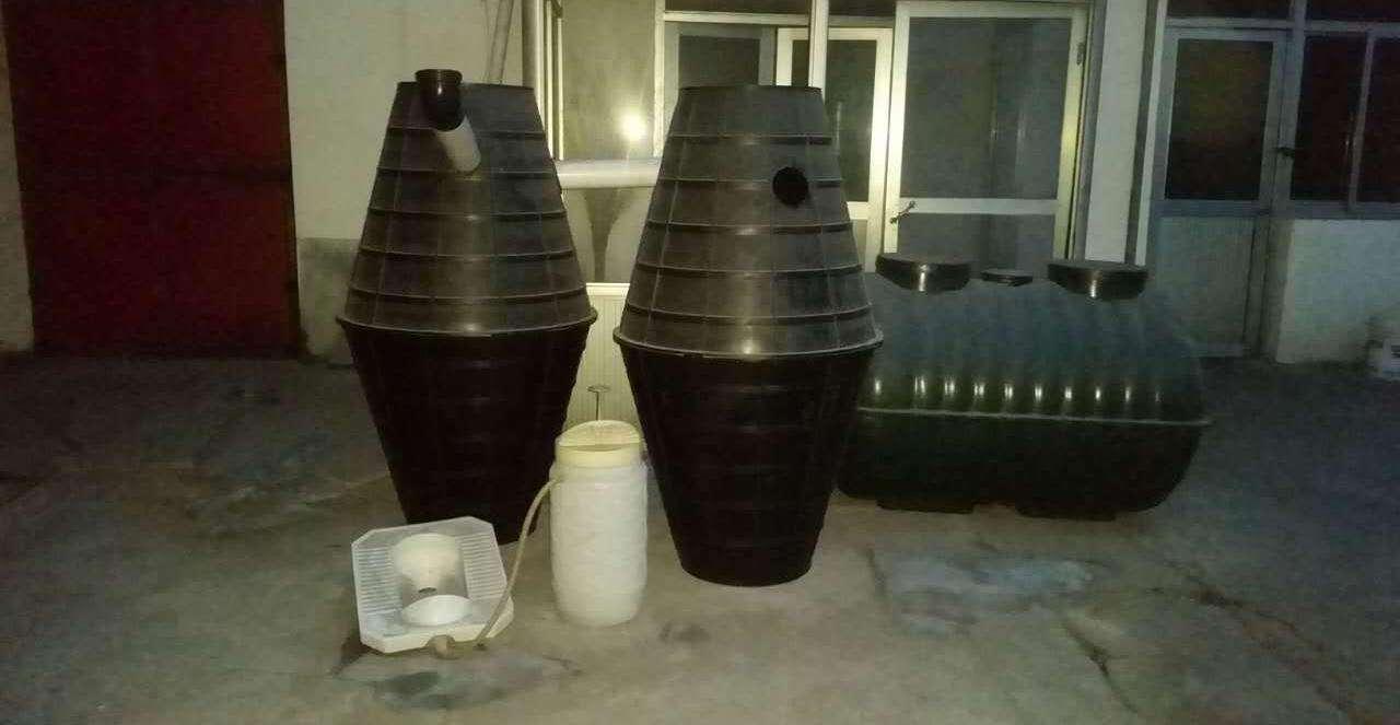农村厕所改造的双瓮化粪池的原理是什么?