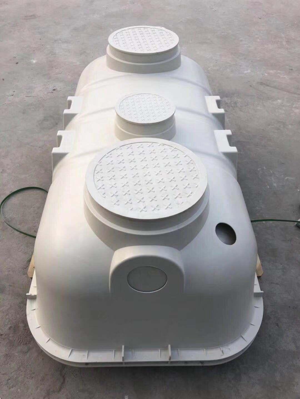 玻璃钢化粪池安装流程