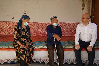 乡村振兴局局长王正谱赴新疆调研工作:结合实际做好改厕工作