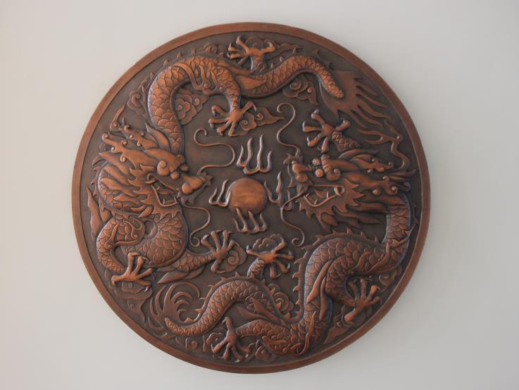 陕西铜饰铜雕塑