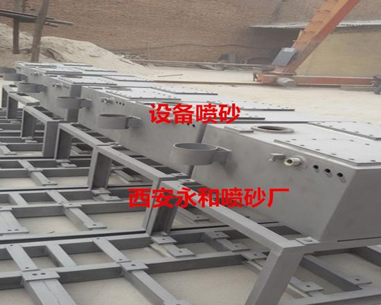 钢构件喷砂除锈