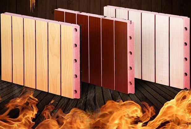 四川防火聚酯纤维吸音板