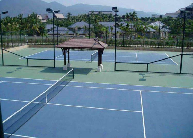 丙烯酸网球运动场地
